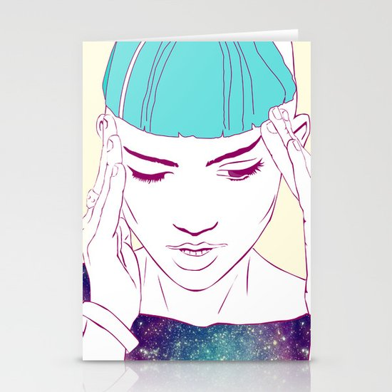 GRIMES Stationery Card
