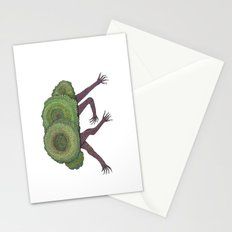 Creeping Shrubbery Stationery Cards