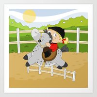 Olympic Sports: Equestri… Art Print