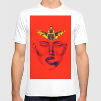 SJWR Mens Fitted Tee White SMALL