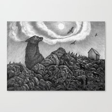 North Canvas Print