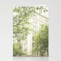Green In The Grey Stationery Cards