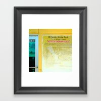 #HAZARDOUS SPORT - SKATE… Framed Art Print