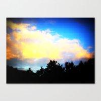 Digital Sky Canvas Print