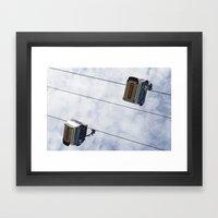 Emirates Cable Car Londo… Framed Art Print