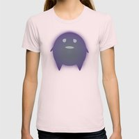 Lonely with Bricks Womens Fitted Tee Light Pink SMALL