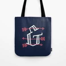 Ampersand with Arrows Tote Bag