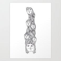 Personalities Art Print