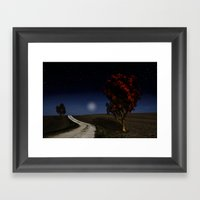 Night Sky In The Midwest… Framed Art Print