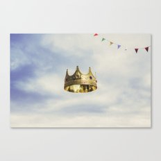 Gold Days  Canvas Print
