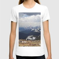 The Front Range Womens Fitted Tee White SMALL
