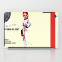 MOON BY NOON iPad Case