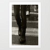 Made For Walking Art Print