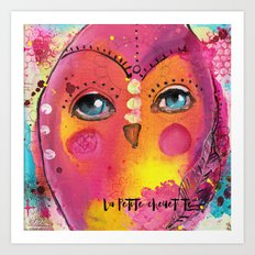 La Petite Chouette Art Print