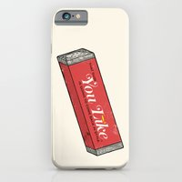 iPhone & iPod Case featuring That gum you like is going to come back in style. by Lil Tuffy