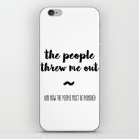 The people iPhone & iPod Skin