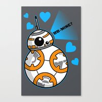 BB Mine Canvas Print