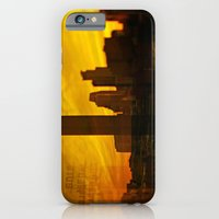 iPhone & iPod Case featuring golden minneapolis by sara montour