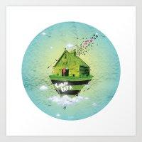 Rumah Kata Art Print