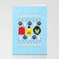 Don't Hug Me I'm Sweater Stationery Cards