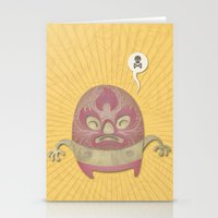 Death Luchador Stationery Cards