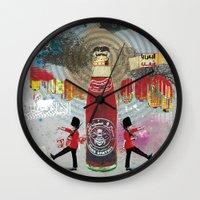 Spiro Spathis Wall Clock