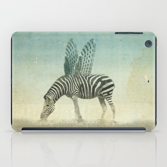 on the wings iPad Case