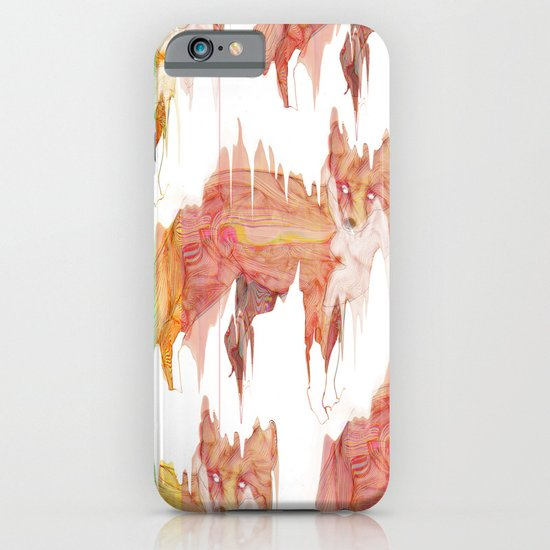 Remix Red Fox iPhone & iPod Case