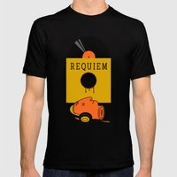 Requiem Mens Fitted Tee Black SMALL
