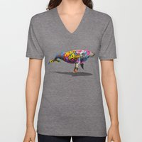 Tagged Whale Unisex V-Neck