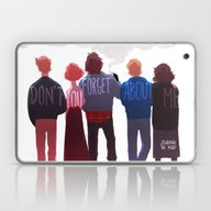 The Club Of Five Laptop & iPad Skin