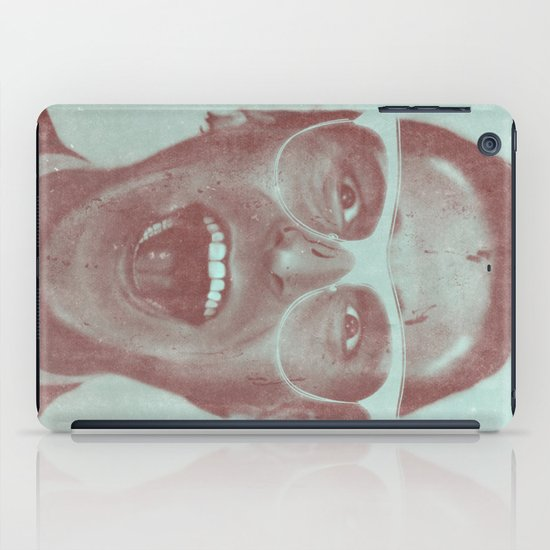 Patrick Bateman - The Hipster (Feat. Marta Macedo) iPad Case