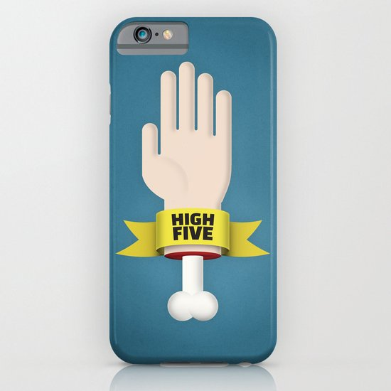 Spooky High Five iPhone & iPod Case