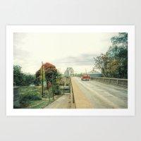 Boonville Bridge II Art Print