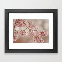 Cherry Float Framed Art Print