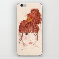 Tokyo Girl iPhone & iPod Skin
