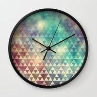 Tribal Fade Wall Clock
