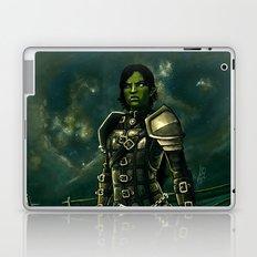 Skyrim - Shro-gan vampire hunter Laptop & iPad Skin