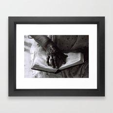 Líneas de Sabiduría (Lines of Wisdom) Framed Art Print