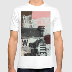 Three Things Mens Fitted Tee SMALL White