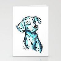 Brush Breeds-Dalmatian Stationery Cards