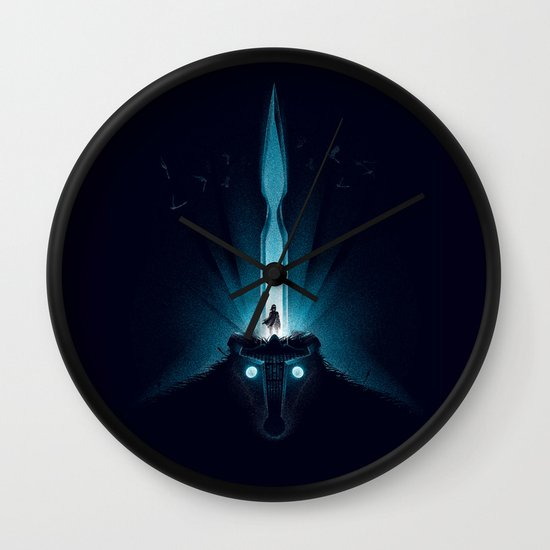 Wander and the Colossus Wall Clock