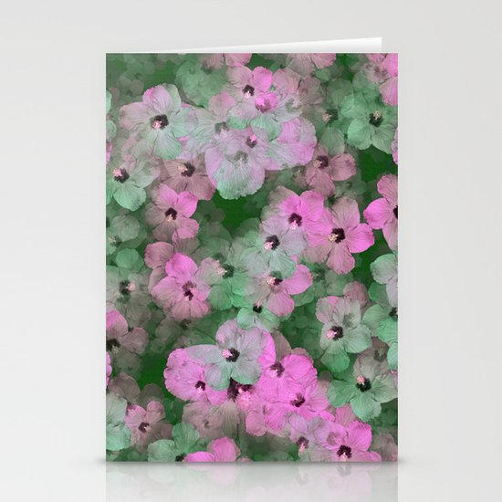 Floral Passion Stationery Card