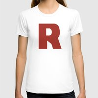 R Is For... Womens Fitted Tee White SMALL