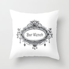Bar Wench Throw Pillow