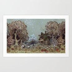 The Gardens of Astronomer Art Print