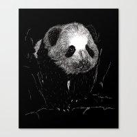 Grin, Bear it Canvas Print