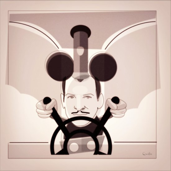 Jean Dujardin Steamboat artist Canvas Print