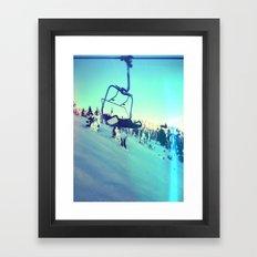 Last Chair Framed Art Print