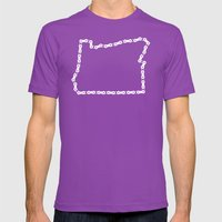 Ride Statewide - Oregon Mens Fitted Tee Ultraviolet SMALL